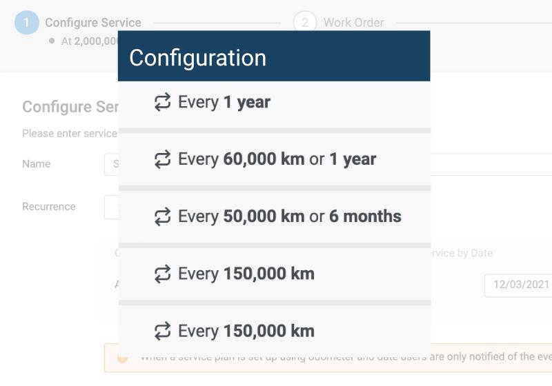 Control dates auto